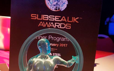 Hydro Group named as Company of the Year at Subsea UK Award